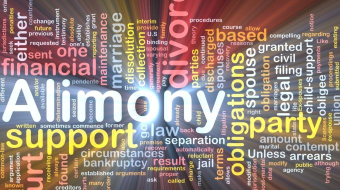 3 Important Things to Know About Alimony