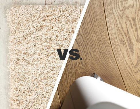 4 Advantages of Carpet vs Hardwood Floors