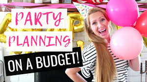 6 Tips for Throwing a Party on a Budget